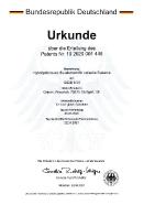 Patenturkunde_Hybridprisma