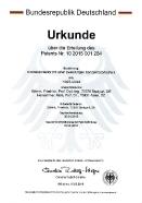 Patent_Urkunde_Sonnenkonzentrator