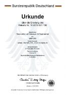 Radpropeller_Patenturkunde